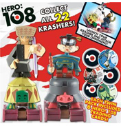 Hero 108 Kingdom Krashers Two Figure Pack…