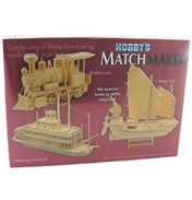 Hobby's MATCHMAKER KITS Mississippi Riverboat