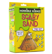 Horrible Science Scary Sand