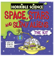 Horrible Science Space Stars & Slimy Aliens