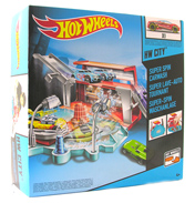 Hot Wheels Ready to Play Set SUPER SPIN CARWASH