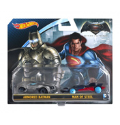 Hotwheels Batman V Superman 2 Vehicle Pack