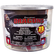How To Train Your Dragon 25 Figure Dragon Bucket