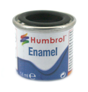Humbrol Enamel Matt Finish Paint - Black 33