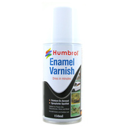 Humbrol Enamel Varnish Spray Paint MATT 150ml