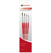 Humbrol EVOCO Brush Pack  (Set includes 0, 2, 4,…