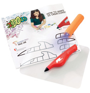 IDO3D Single Pen Starter Set Pets (Yellow Pen)