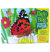 Parts of A Bug Wooden Puzzle