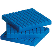 Interlocking Base Ten Flats (10 Pack)