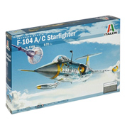 F-104 A/C Starfighter (Scale 1:72)