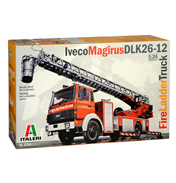 Iveco Magirus DLK 26-12 Fire Ladder Truck (Scale 1:24)
