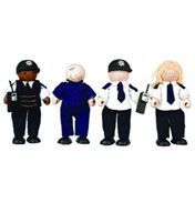 Pintoy City Police & Prisoner Figures