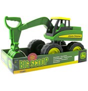Tomy John Deere Big Scoop Excavator Sanbox Toy