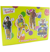 Jumbo Something Special 4 Shaped Jigsaw Puzzles