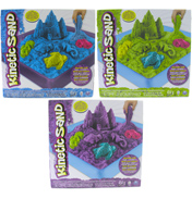 Kinetic Sand 454g Sandbox Set with PURPLE SAND