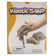 Waba Kinetic Sand Natural Colour 2.5kg Pack