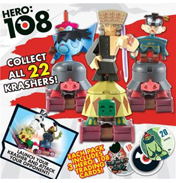 Hero: 108 Kingdom Krashers Single pack (Assorted)