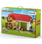 Large Farm with Animals and Accessories