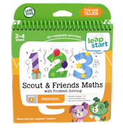 LeapStart Scout & Friends Maths with Problem Solving (Level 1)