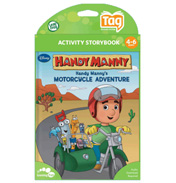 Disney Handy Manny Motorcycle Adventure