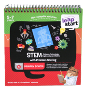 Leapstart STEM with Problem Solving 30+ Page Activity Book