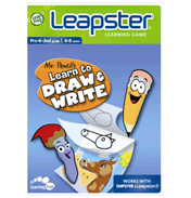 Leapster Mr Pencil Art Software