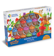 Alphabet Acorns Activity Set