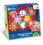 Barnyard Friends Build & Spin Set