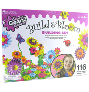 Gears! Gears! Gears! Build & Bloom Building Set