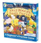 Jolly Roger's Pirate Pieces Fraction Game