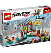 Angry Birds Movie Pig City Teardown