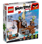Angry Birds Movie Piggy Pirate Ship