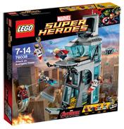 Avengers Attack On Avengers Tower
