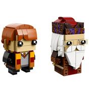 Lego Brick Headz Harry Potter Ron Weasley &…