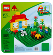 Lego Duplo Building Plate Green