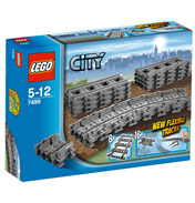 Lego City Flexible Tracks
