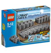 Lego City Flexible Tracks