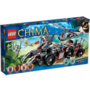 LEGO Legends of Chima Worriz' Combat Lair…