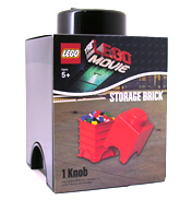 Lego Movie Storage Brick (BLACK)