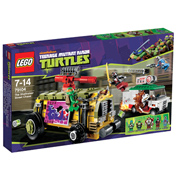 Lego Ninja Turtles Shellraiser Street Chase