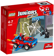 LEGO Juniors Spiderman Spider-Car Pursuit