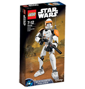 Buildable Figures Clone Commander Cody