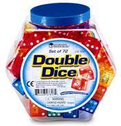 Double Dice Bucket Set of 72