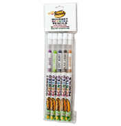 Coloured Smencils Fruit 5 Pack