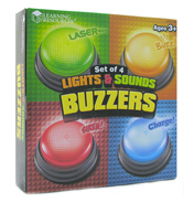 Learning Resources Lights & Sounds Buzzers…