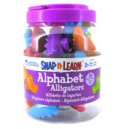 Snap-n-Learn Alphabet Alligators