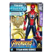 "Avengers Infinity War Titan Hero Power FX 12"" Figure Iron Spider"