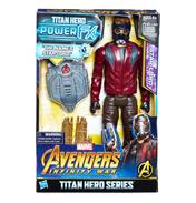 "Avengers Infinity War Titan Hero Power FX 12"" Figure Star-Lord"