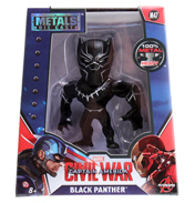 "Captain America: Civil War Black Panther Metal Die Cast 4"" Action Figure"