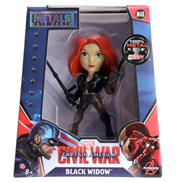 "Captain America: Civil War Black Widow Metal Die Cast 4"" Action Figure"